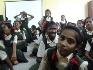 CAPGEMINI/SSRVM School Adoption Project by Indrani Sarkar AT SSRVM Thane