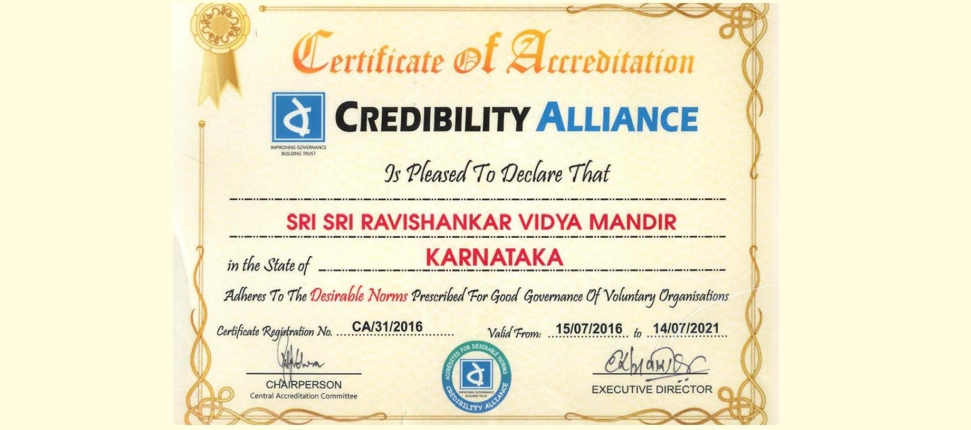 Certificate sri sri ravishankar vidya mandir trust certificate 1betcityfo Images